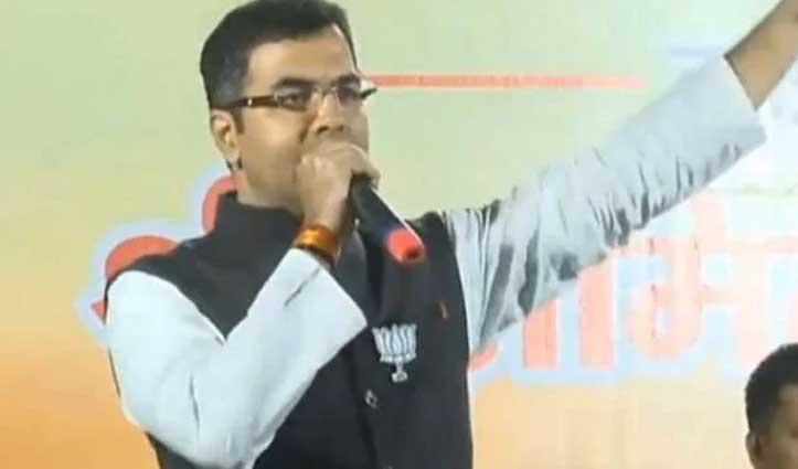 BJP सांसद का ऐलान, सरकार बनी तो 1 घंटे में खाली करवा देंगे शाहीन बाग