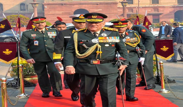 जनरल बिपिन रावत ने संभाला देश के पहले CDS का कार्यभार