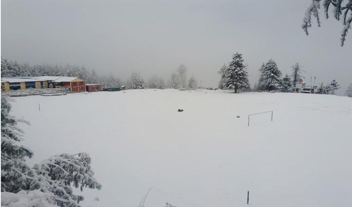Shimla : बर्फबारी ने रोकी जिंदगी की रफ्तार, कई रास्ते बंद