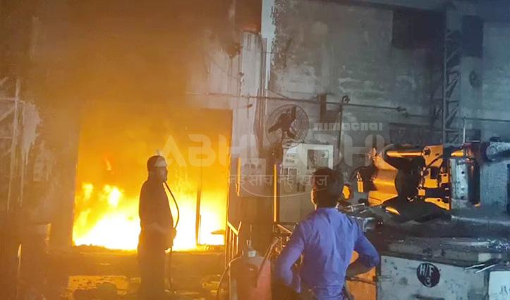 कालाअंब में प्रेशर पाइप फटने से उद्योग में लगी आग, Una में कारपेंटर की दुकान राख