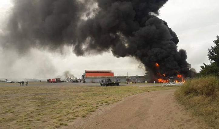 अमेरिकी सैन्य बेस पर एक और Attack, दागे गए 8 रॉकेट, इराकी वायु सेना के चार जवान जख्मी