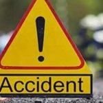 सड़क किनारे खड़े Truck में घुसी बारातियों की गाड़ी, 6 की गई जान, 6 गंभीर