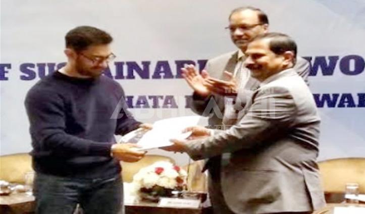 दिल्ली में सिरमौर की धाक, अभिनेता आमिर खान के हाथों मिला सम्मान
