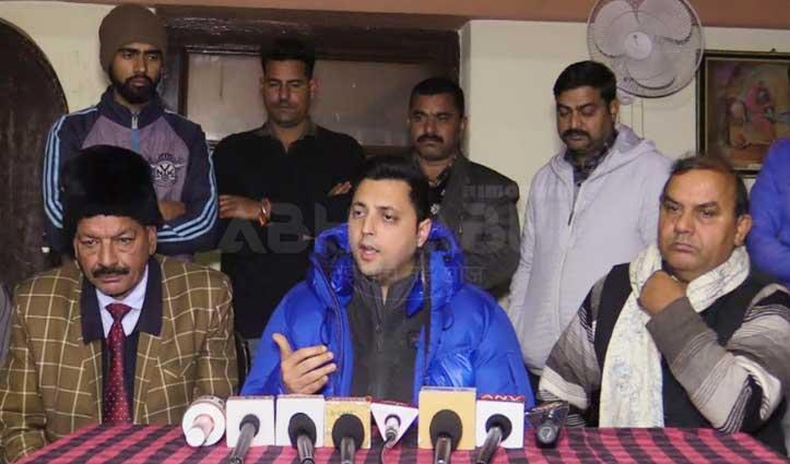 आश्रय का छलका दर्दः बोले-अनिल शर्मा को अपमानित करने का BJP को नहीं हक