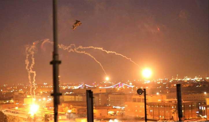 बगदाद पर फिर दागे गए रॉकेट, Iran के साथ युद्ध पर अमेरिकी संसद में आज होगी Voting