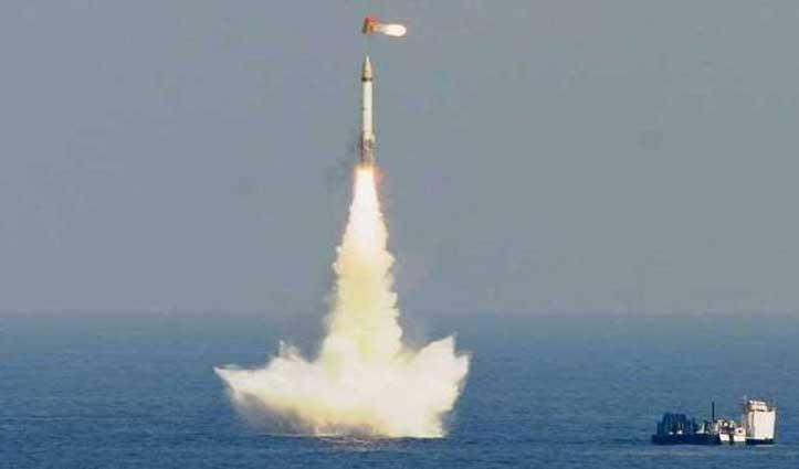 K-4 बैलिस्टिक मिसाइल का सफल परीक्षण, हजारों KM दूर हवा में ही खाक हो जाएगा दुश्मन