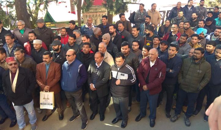 Bank strike : केंद्र सरकार के खिलाफ बैंक कर्मियों का हल्ला बोल