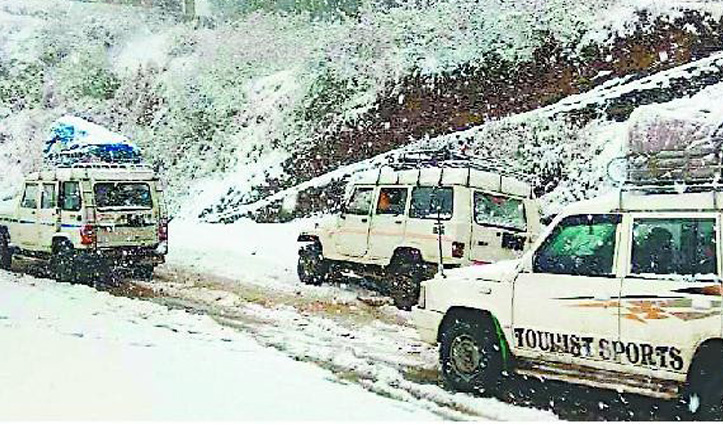 मौसम: Himachal में तीन दिन होगी भारी बर्फबारी, पांच जिलों में येलो अलर्ट जारी