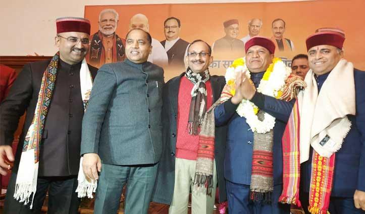 ब्रेकिंग: Bindal बने हिमाचल BJP के अध्यक्ष, आधिकारिक घोषणा के साथ ही खूब गूंजे नारे