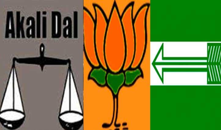 दिल्ली में अकाली दल ने छोड़ा बीजेपी का साथ, गठबंधन में 2 सीटों चुनाव लड़ेगी JDU