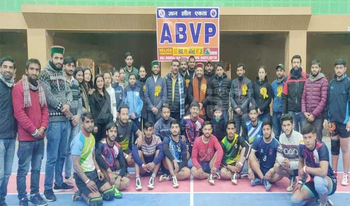 स्वामी विवेकानंद कबड्डी प्रतियोगिता का शुभारंभ