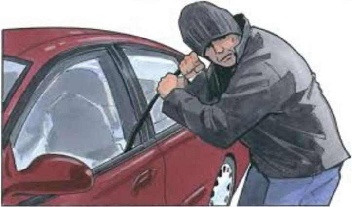 दारोगा ने चुराई कॉन्स्टेबल की कार, कहा- डिप्रेस्ड लोग ऐसा करते हैं