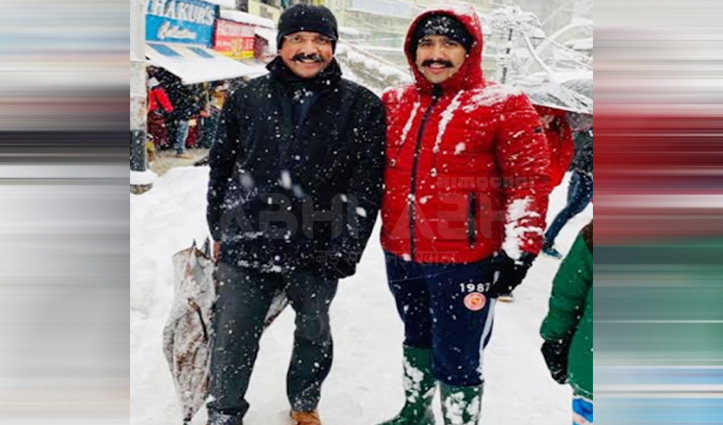 जयराम के CM रहते इतनी बर्फबारी वाली बात पर Vikramaditya ने सूरत नेगी को ये सुनाया