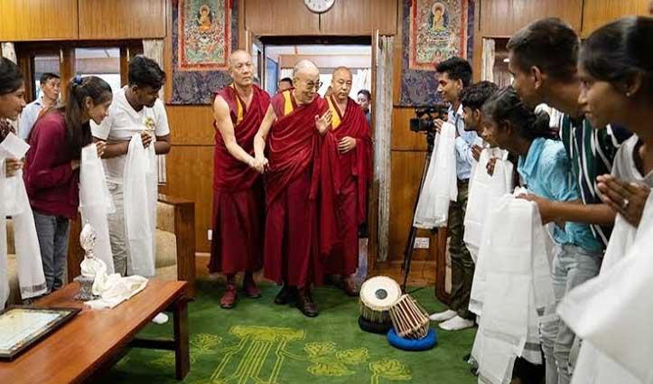 His Holiness the Dalai Lama चैरिटेबल ट्रस्ट को तीन माह में महज 24,830 रुपए की मदद