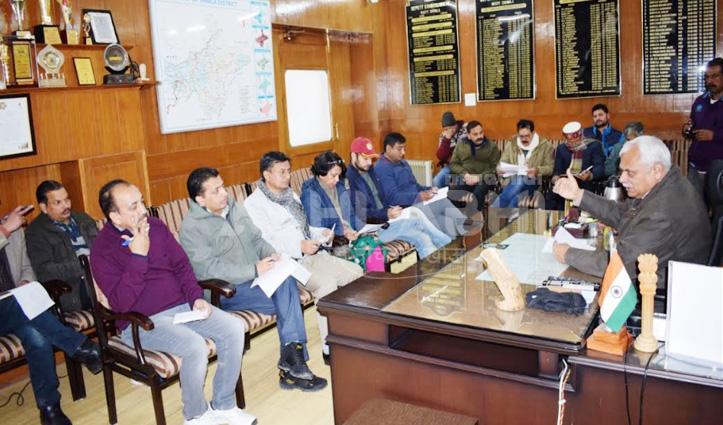 मौसम विभाग की चेतावनी के बाद जागा प्रशासन, DC शिमला ने ली बैठक