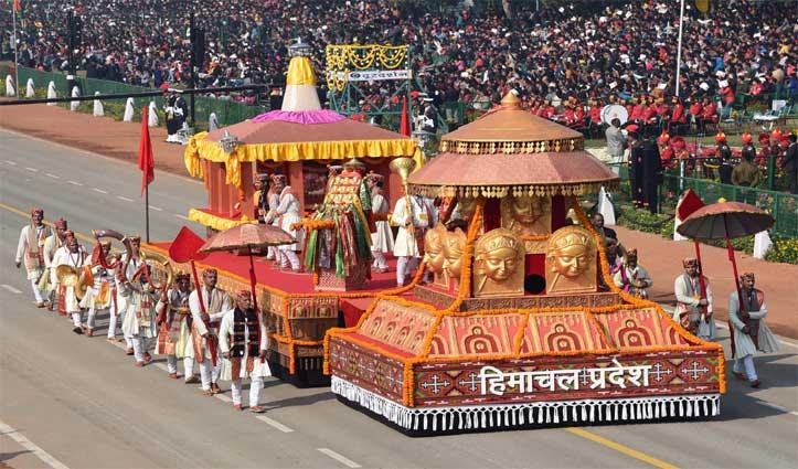 राजपथ पर Republic Day Parade में दिखी कुल्लू दशहरे की झलक