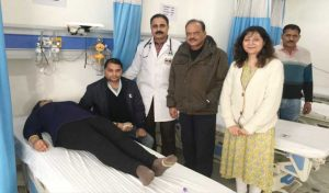 पंडित Bal Krishna Sharma के जन्मदिवस पर रक्तदान शिविर