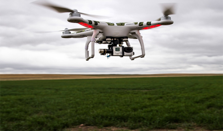 हुसैनीवाला बॉर्डर के पास एक बार फिर नजर आया Drone, जवानों ने की फायरिंग