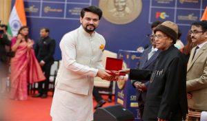 MoS Finance Anurag Thakur gets 'Champions of Change 2019' award for social welfare