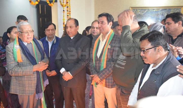 Delhi Election : CM Jai Ram urges to vote and support BJP candidates