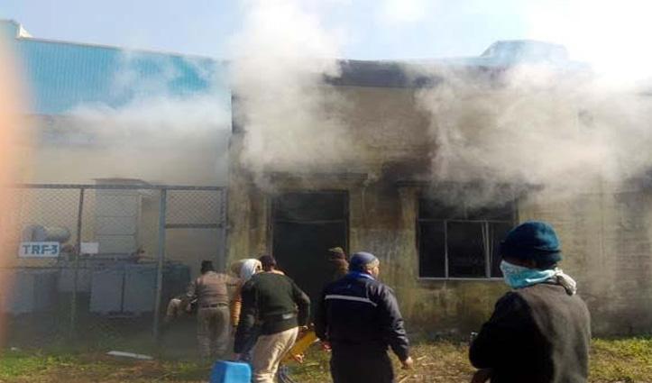 डमटालः बैटरी प्लांट में आग का तांडव, 450 से अधिक बैटरियां फटने से मची तबाही