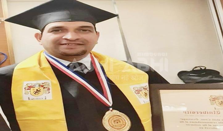डॉ. मुकेश का भारत गौरव अवार्ड के लिए हुआ चयन, बैंकाक में होंगे सम्मानित