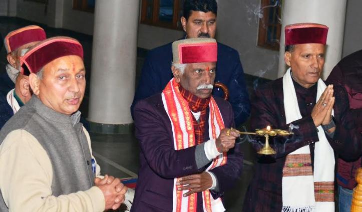 मकर संक्रान्ति पर Governor ने तत्तापानी में किया पवित्र स्नान, की पूजा-अर्चना
