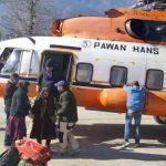 हेलिकॉप्टर ने भरी लाहुल स्पीति के लिए उड़ान, 123 यात्रियों ने आरपार किया Rohtang Pass
