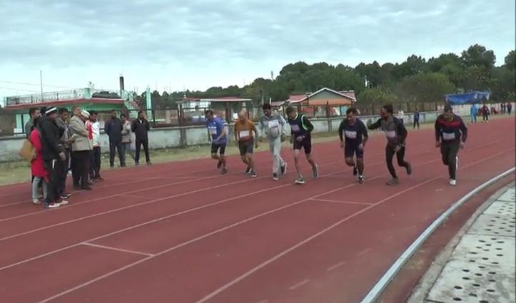 अणु के सिंथेटिक ट्रैक पर State Masters Athletics Championship का आगाज