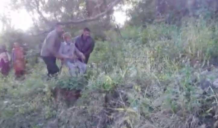 हमीरपुर के इस गांव के लिए सड़क तो बनी पर पक्का करना भूल गया लोनिवि
