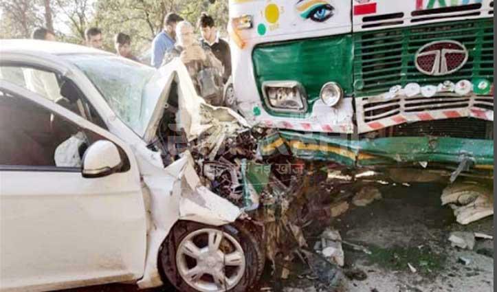 शिमला: HRTC बस और कार में जोरदार टक्कर, कई घायल- तीन IGMC रेफर