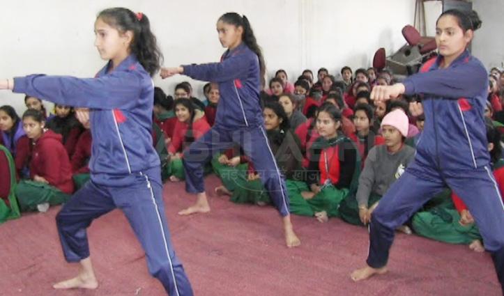 Women's ITI Mandi में आत्मरक्षा की 10 दिवसीय कार्यशाला शुरू