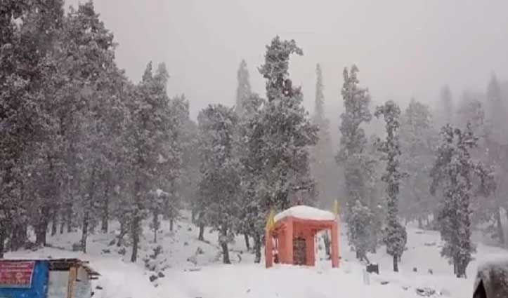पहाड़ों पर भारी बर्फबारी के लिए Red Alert जारी, अतिरिक्त फोर्स की तैनाती