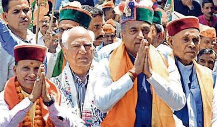 Jai Ram-Shanta की परसों पालमपुर में रहेगी जुगलबंदी, Dhumal छत्ररैल बूथ पर करेंगे जन-जागरण
