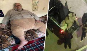 250 किलो का IS लीडर 'जब्बा द जिहादी' गिरफ्तार, पिकअप में उठाकर लाया गया