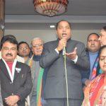 दिल्ली के रण में Himachal के Jai Ram, शकूरबस्ती से सीधे Live तस्वीरें देखें