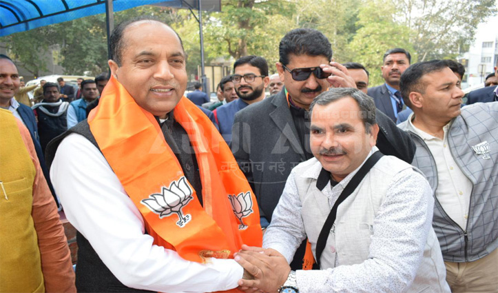 Jai Ram urged the voters of Delhi to vote, support and elect BJP candidates