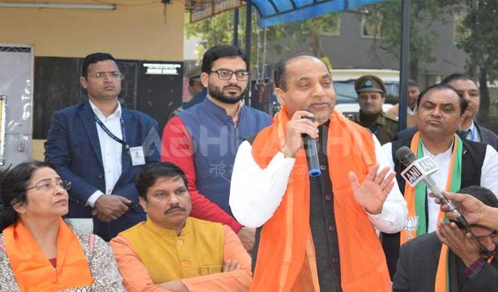 Jai Ram बोले, दिल्ली में होगी BJP की ऐतिहासिक जीत, जनता उत्साहित