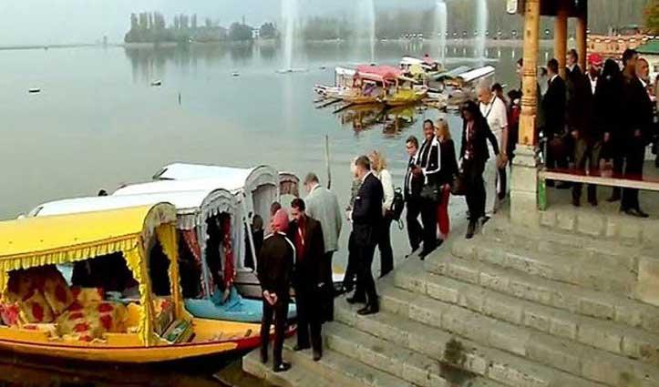 17 देशों के राजनयिकों का दल Jammu-Kashmir दौरे पर आज से