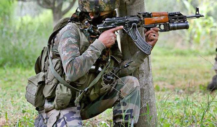 Jammu-Kashmir : नौशेरा में आतंकियों और सुरक्षाबलों के बीच मुठभेड़, दो जवान शहीद