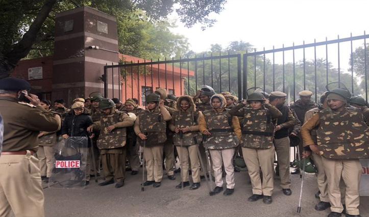 CM योगी की राह चला JNU प्रशासन; दोषियों से कराई जाएगी तोड़फोड़ की भरपाई