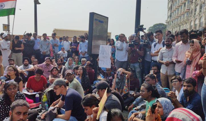 JNU हिंसा : दिल्ली पुलिस ने दर्ज की एफआईआर, प्रशासन ने HRD मंत्रालय को भेजी रिपोर्ट