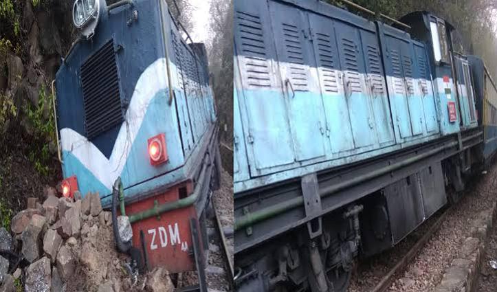 कांगड़ा घाटी रेलगाड़ी का Engine ट्रैक से उतरा, बड़ा हादसा होते-होते टला