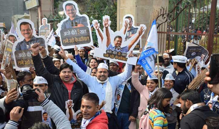 दिल्ली चुनाव में नया रिकॉर्ड : 70 सीटों पर पहली बार डेढ़ हजार ने भरा Nomination