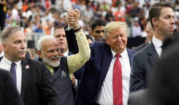 यूएस के 'हाउडी मोदी!' की तरह भारत में 'केम छो, मिस्टर प्रेसीडेंट?' रैली कर सकते हैं ट्रंप