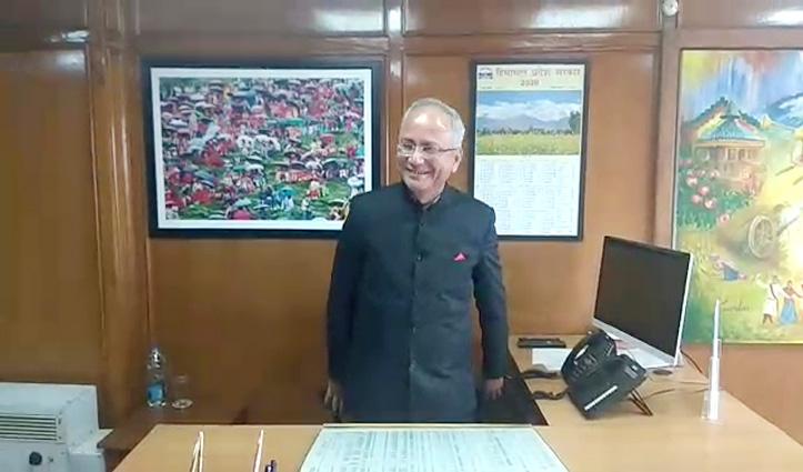 मुख्य सचिव Anil Kumar Khachi ने संभाला पदभारः बोले-बजट में देखने को मिलेंगे नए प्रयास