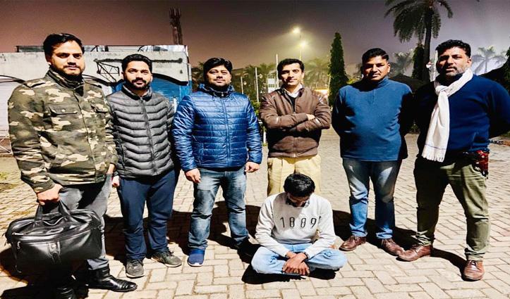 Kullu Police ने धरा 10 लाख की ऑनलाइन धोखाधड़ी का मुख्य आरोपी