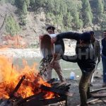 Kullu Police ने वाशिंग में 59 किलो 587 ग्राम Charas की आग के हवाले