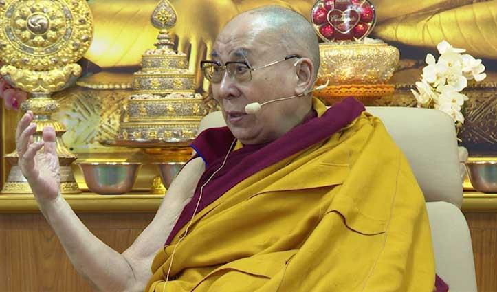 The Dalai Lama बोले, Corona Virus से चिंतित व डरे हुए लोगों के लिए करूंगा प्रार्थना, Video