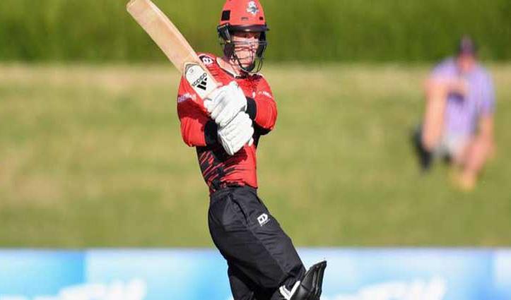 न्यूजीलैंड के इस क्रिकेटर ने 1 ओवर में लगाए छह छक्के, ऐसा करने वाले दुनिया के चौथे खिलाड़ी बने